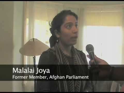 Malalai Joya, the Bravest Women in Afghanistan