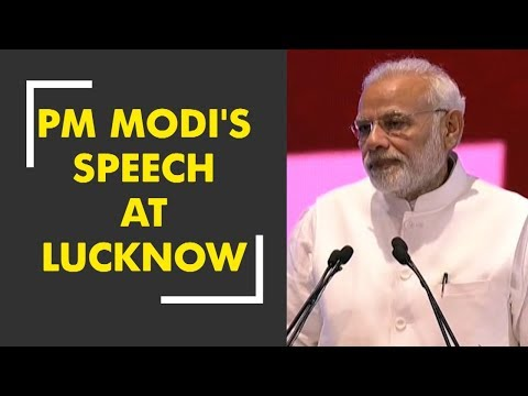 PM Modi's speech at Lucknow on inaugural occasion of various development projects