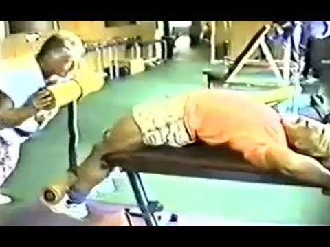 Tom Platz INSANE Training Intensity