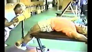 Tom Platz INSANE Training Intensity