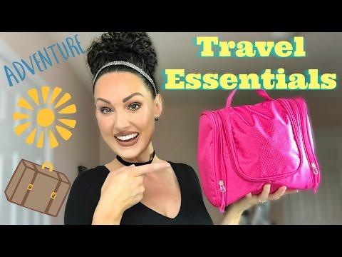Curly Hair Travel Essentials & GIVEAWAY