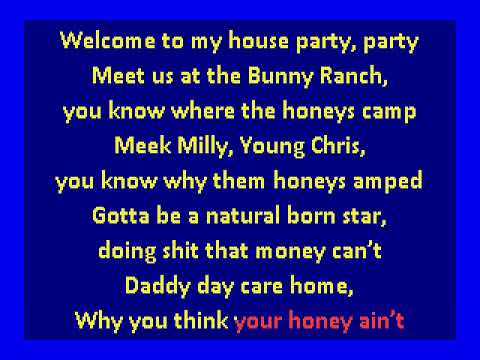Meek Mill - House Party (karaoke)