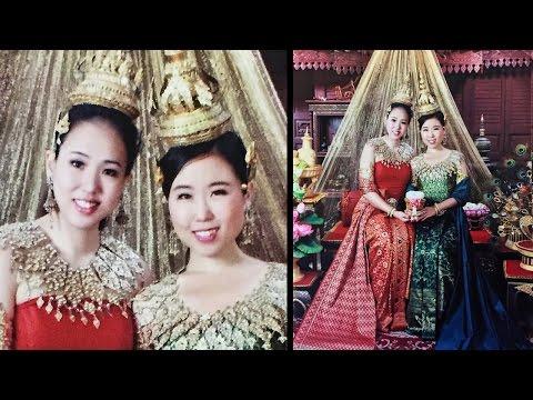 Traditional Thai Dress Photoshoot in Bangkok ● Thailand Travel Vlog