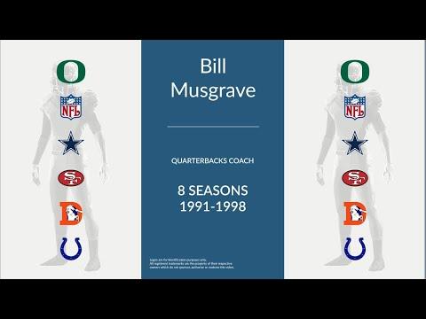 Bill Musgrave: Football Quarterbacks Coach