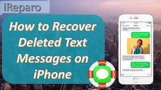 iPhone Message Recovery - Recover Deleted Text Messages on iPhone 7/7 Plus/6S/6S Plus/6/6 Plus