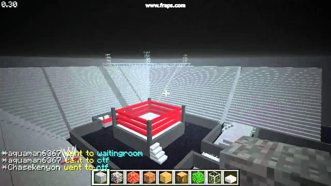 How To Build Wwe  Minecraft