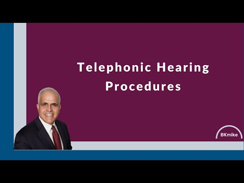 Central District of California Instructions for the Telephonic 341 hearings in Bankruptcy
