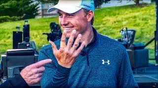 Jordan Spieth's Golf Tips and... Mangled Fingers!!! | The Dan Patrick Show | 2/8/19