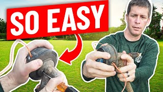 How to Change a String Trimmer, Weed Eater, Weed Whacker Head