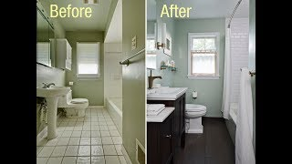 Top 40 Bathroom Remodeling Design Ideas 2018 | DIY Cost On Budget Before and After Cheap Decorating