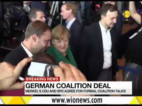 Breaking News: German coalition deal