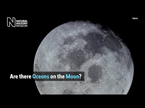 What are the dark spots on the Moon?   Natural History Museum