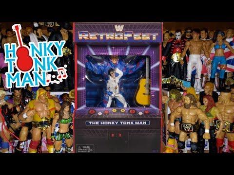 2018 MATTEL~WWE~RETROFEST~THE HONKY TONK MAN~W//GUITAR~WRESTLER ACTION FIGURE~NEW