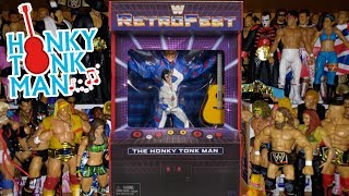 Honky Tonk Man Retrofest Action Figure Review | Gamestop Exclusive