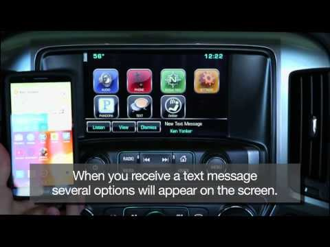 2015 Chevrolet Silverado How To Video Mylink Infotainm