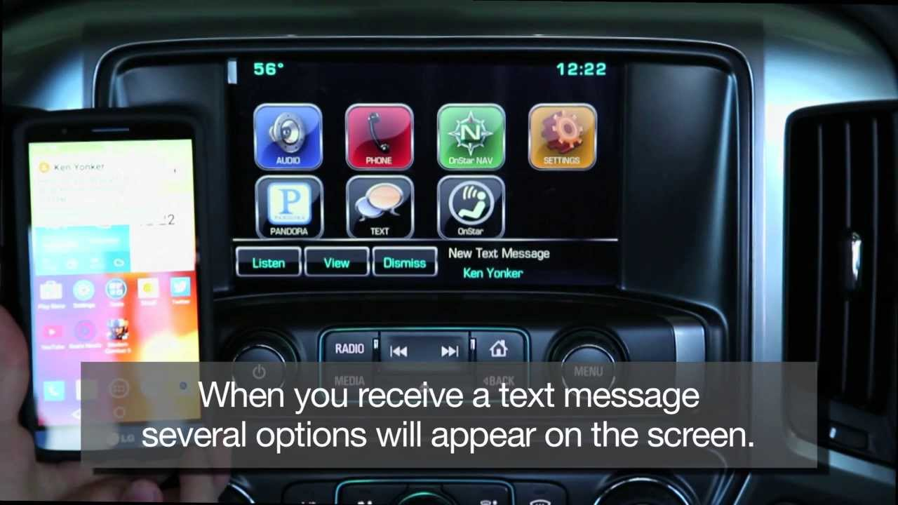 Listen To Text Messages >> How To Receive Text Messages In Your Car Using Chevy Mylink