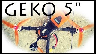 Farins Frames GEKO 5 inches | the BANDO destroyer FPV freestyle frame | Review & TIPs & PIDs