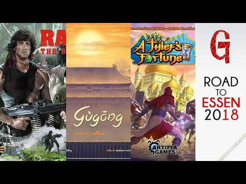 Road to Essen #02 : Gùgōng - A Thief's Fortune - Rambo