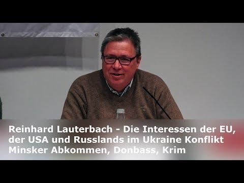 Reinhard Lauterbach: Die Interessen der EU, der USA und Russlands im Ukraine Konflikt, Donbass, Krim