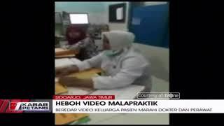 Viral! Video Keluarga Pasien Marahi Dokter dan Perawat RS Siti Khodijah