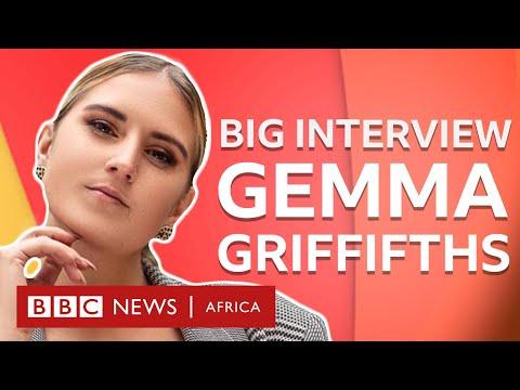 "Gemma Griffifths: ""White aside, I'm a Zimbabwean artist"" - BBC What's New"