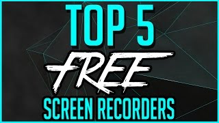Video Top 5 Best FREE Screen Recording Software 2018-2019 download MP3, 3GP, MP4, WEBM, AVI, FLV November 2018