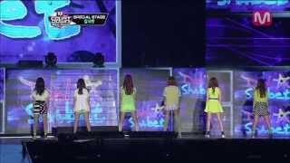 달샤벳_SUPER STAR(원곡:S.H.E.)(SUPER STAR by Dal★Shabet@M COUNTDOWN Nihao-Taiwan 2013.4.25)