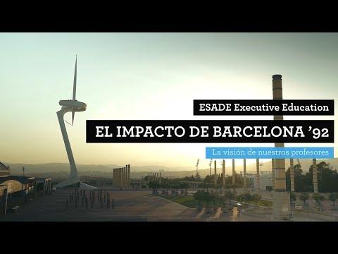 ESADE Executive Education: El impacto de Barcelona '92 - TEASER