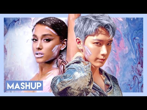 Ten (NCT) X Ariana Grande - New Heroes (God Is A Woman Inst.)