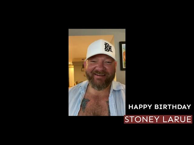 Happy Birthday Stoney!