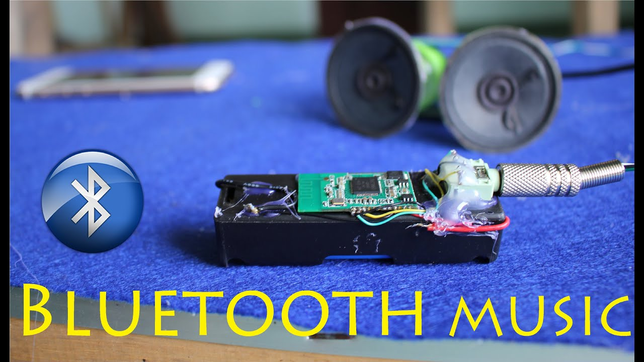 How to make a Bluetooth Music Receiver very simple  YouTube