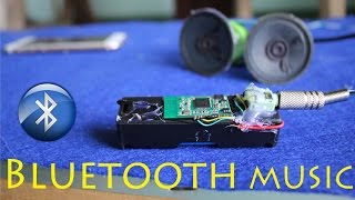 How to make a Bluetooth Music Receiver very simple