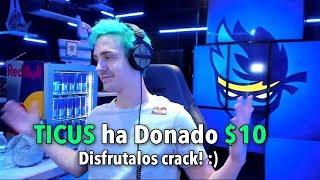Le DONO 10€ a NINJA En Su Directo y pasa esto... thumbnail