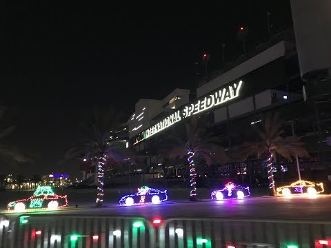 Magic Of Lights At Daytona International Speedway 2017