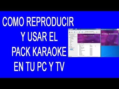 Como Montar Un Karaoke Profesional Usar Programa Karafun Player