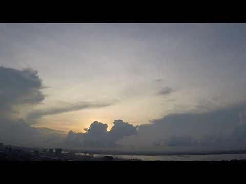 Cebu City Overlooking Mactan Island - Time lapse 9-18-17
