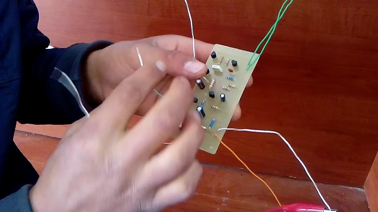 transistor siren circuit 1 [ 1280 x 720 Pixel ]
