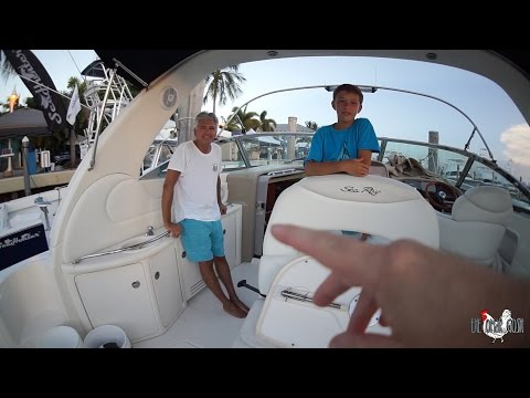 Asking Random People For Yacht Tours
