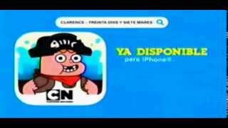 Cartoon network LA CN Movil -Clarence : treinta dias y siete mares- App