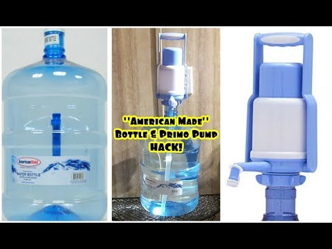 American Made 5 Gallon Bottle & Primo Pump Hack