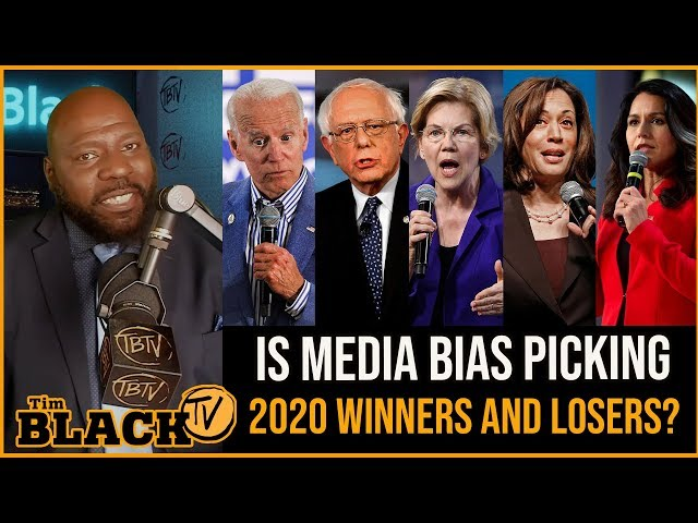 Tim Black: Proof Which 2020 Candidates Get The Most Media Coverage