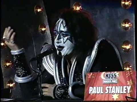 KISS Pro-shot 1998 Hollywood press conference - Psycho Circus LP & tour mp3