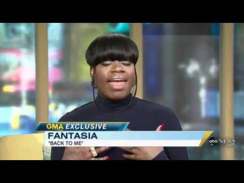 Fantasia - First ever TV interview since her recent ...