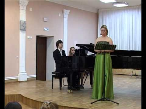 Seven Early Songs by Alban Berg. S.Fomina (soprano), N.Medvedev (piano)