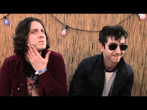 Arctic Monkeys interview - Alex Turner and Nick O'Malley (part 1)