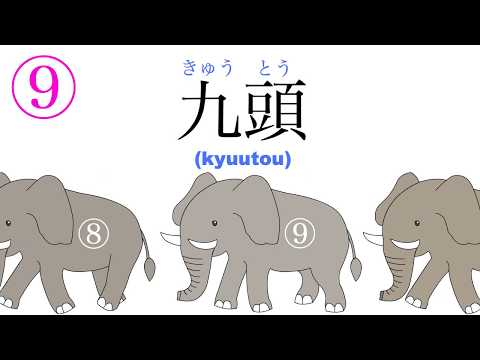 learn how to count to 10 in japanese