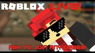 Random Roblox Live Stream Gaming ! Join FOR FUN! #3