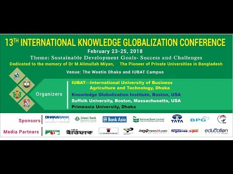 13th International Knowledge Globalization Conference 2018