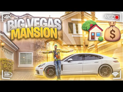 MOVING TO LAS VEGAS!!?? MANSION With BASKETBALL COURT!!