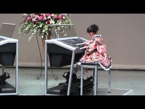エレクトーン 150322 YAMAHA JEF全店大会 金賞 「大和」(YAMATO) J専3年・8歳(8 years old) エレクトーン